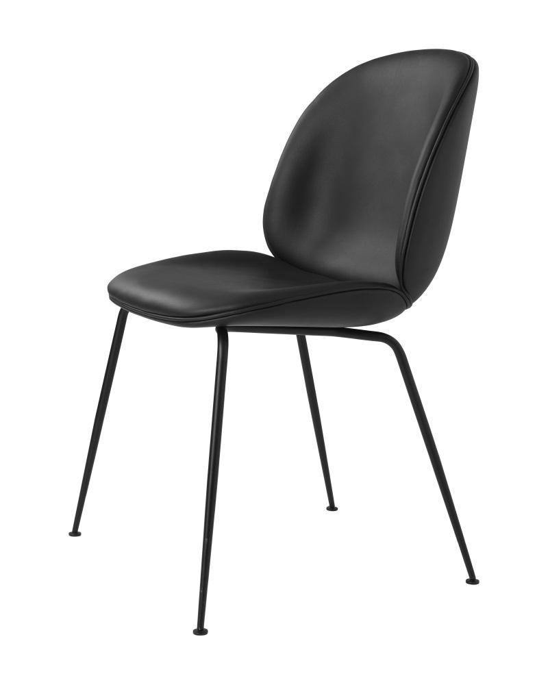 GUBI BEETLE tuoli, ympäriverhoiltu, musta